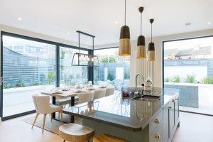 7 Newbridge Avenue Dining Area and Kitchen